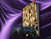 """طرح نسخة ذهبية من PlayStation 5 بسعر """"نصف مليون دولار"""".. صور وفيديو"""