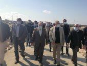 وزير الري يعلن إقامة مشروعات سياحية بمنطقة بوغاز الجميل 1 غرب بورسعيد.. فيديو وصور