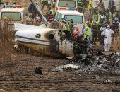 مصر تعزى نيجيريا فى ضحايا حادث تحطم طائرة عسكرية بالعاصمة أبوجا