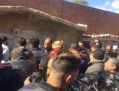 قتلوه بـ6 طعنات.. جنازة مهيبة لسائق تاكسى الإسماعيلية ضحية لقمة العيش.. فيديو