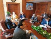 وزيرة التضامن ومحافظ بورسعيد يبحثان تنشيط العمل الاجتماعى.. فيديو لايف