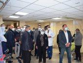 وزيرة الصحة تتفقد مستشفى إيزيس بالبياضية وتشيد بمستوى التجهيزات والخدمات
