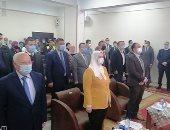 """وزيرة التضامن الاجتماعى تتفقد مركز """"عزيمة"""" لعلاج الإدمان ببور سعيد.. صور"""