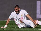 بنزيما يغيب عن المران الجماعى لـ ريال مدريد قبل مواجهة فالنسيا