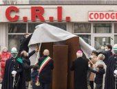 مدينة إيطالية تحيى ذكرى تسجيل أول إصابة بفيروس كورونا قبل عام.. صور