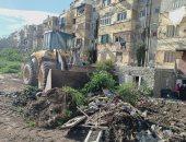 رفع 1430 طن قمامة من مساكن مصيلحي بنطاق حي غرب الإسكندرية