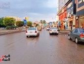 هطول أمطار وتوقف حركة الصيد بميناء البرلس بكفر الشيخ.. صور وفيديو