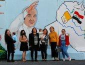 صور.. العراق يترقب زيارة البابا فرانسيس وصوره تنتشر على الحوائط