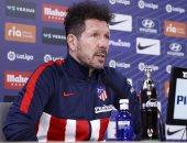 أتلتيكو مدريد ضد تشيلسى.. سيميونى: سواريز يثير قلق المنافسين