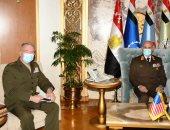 الفريق محمد فريد يلتقى قائد القيادة المركزية الأمريكية