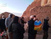 """""""سياحة النواب"""": تعامد الشمس على وجه رمسيس الثانى ظاهرة فريدة سطرها القدماء"""