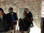 مواطن من القاهرة: قطعت 1000 كيلو لأكون أول زائر يشاهد تعامد الشمس.. فيديو وصور