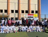 انطلاق مهرجان الرياضة للجميع فى قلب الوادى الجديد بحضور المحافظ.. صور