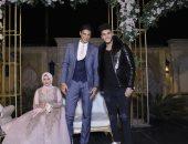أحمد الشيخ وإسلام جمال وأمح يحضرون حفل خطوبة ابنة مدير شئون اللاعبين بالطلائع