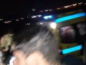 غرق مركب الإسكندرية..تجمع الأهالى على ضفاف بحيرة مريوط وانتشار عربات إسعاف
