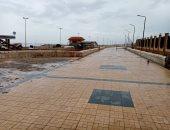 ارتفاع طفيف بدرجات الحرارة اليوم وأمطار على عدة مناطق والصغرى بالقاهرة 9درجات