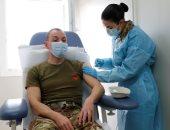 قوات الجيش الإيطالى تتلقى تطعيمات ضد فيروس كورونا.. صور