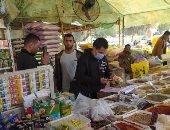 تشميع 16 منشآه غذائية وإعدام 550 كجم أغذية فاسدة خلال حملة بالشرقية