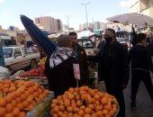 ضبط شيش بالمقاهى والتحفظ على إشغالات الطريق بمدينة مرسى مطروح