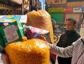 ضبط 23 قضية تموينية خلال حملة على الأسواق في أسوان