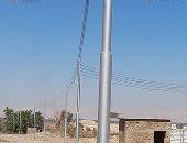 رئيس مدينة الطود يعلن تركيب أعمدة الكهرباء بالطرق وحملات نظافة.. صور