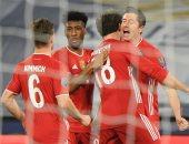 بايرن ميونخ يتخطى لاتسيو برباعية ويضع قدما فى ربع نهائى دوري أبطال أوروبا