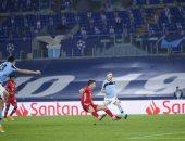 متخطيًا راؤول.. ليفاندوفسكي ثالث الهدافين التاريخيين في دوري أبطال أوروبا