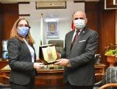 رئيس جامعة الأقصر يستقبل سفيرة كوبا لبحث سبل التعاون