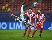 """أتلتيكو مدريد ضد تشيلسي.. البلوز يتقدم بهدف من مقصية رائعة لجيرو """"فيديو"""