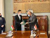 """وزير الخارجية: نسعى لتعزيز التعاون مع """"الفيشجراد"""" خلال الفترة المقبلة"""