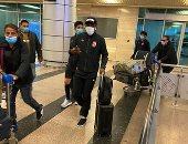 بعثة الأهلى تصل مطار القاهرة قادمة من تنزانيا بعد الخسارة من سيمبا.. فيديو وصور