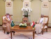 وزيرا خارجية عمان والسعودية يبحثان التعاون الثنائى وتعزيز المصالح المشتركة