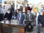 تشغيل تجريبي لمشروع صرف صحي منشأة العرب بتكلفة 48 مليون جنيه.. صور