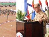 """الفريق محمد فريد يشهد المرحلة الرئيسية للمشروع الاستراتيجى التعبوى للمدفعية """"أحمس 3"""""""