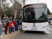 إسبانيا تختبر أول أتوبيس كهربائى ذاتى القيادة.. ألبوم صور