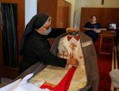 صور.. استعدادات رسمية وشعبية ضخمة لاستقبال بابا الفاتيكان فى العراق