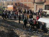ننشر أسماء ضحايا قطار القاهرة الإسماعيلية