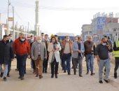 محافظ دمياط تجرى جولة لمتابعة مشروعات تطوير مدينتى كفر سعد وميت أبو غالب