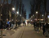 جماهير أتالانتا تشعل الأجواء خارج ملعب مواجهة ريال مدريد.. فيديو