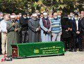 تأدية صلاة الجنازة على حسين صبور بمسجد الشربتلى بالتجمع الخامس