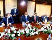 تفاصيل لقاء وزير الخارجية برؤساء تحرير الصحف وكتاب الرأى والإعلاميين