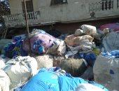 محافظة الجيزة تضبط مصنعا لإعادة تدوير المخلفات الطبية الخطرة بأبو النمرس