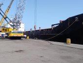 دخول وخروج 20 سفينة لموانئ بورسعيد وتفريغ 4407 أطنان رخام بميناء غرب
