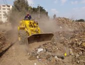 حملات نظافة بالمنوفية لرفع القمامة ونواتج الهدم حفاظاً على المظهر الحضارى.. صور