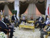 وزير الزراعة يبحث مع نواب جنوب سيناء مشاكل المزارعين ومشروعات النفع العام