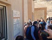 وزير الآثار: الزيارة مجانية للجمهور بمعبد أتريبس ومقابر الحواويش خلال شهر مارس .. صور
