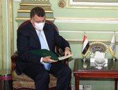 رئيس جامعة عين شمس يستقبل وزير الأوقاف بقصر الزعفران لبحث التعاون وتدريب الأئمة