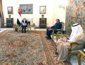 أمير الكويت يؤكد للرئيس السيسي اعتزاز الحكومة والشعب لمصر والعلاقات التاريخية
