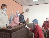 تكريم عمال نظافة دسوق تقديراً لجودهم وأخر لبلوغه السن القانونى بالحامول