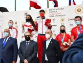 روسيا تحسم ذهبية المختلط بكأس العالم للرماية خرطوش